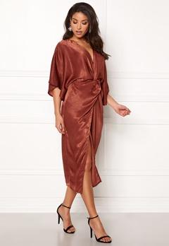 Make Way Nikki kimono dress Rust Bubbleroom.no