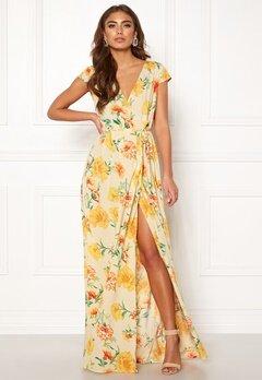 Make Way Odette dress Beige / Floral Bubbleroom.no