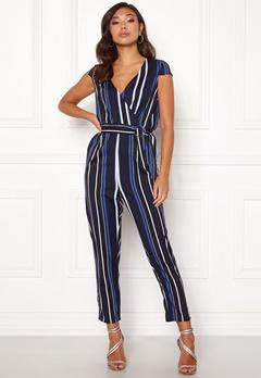 Make Way Patrina jumpsuit Blue / White / Striped Bubbleroom.no