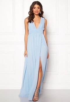 Make Way Prudence maxi dress Light blue Bubbleroom.no