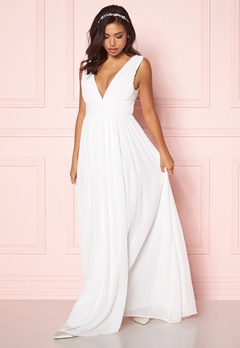 Make Way Prudence maxi dress Winter white Bubbleroom.no