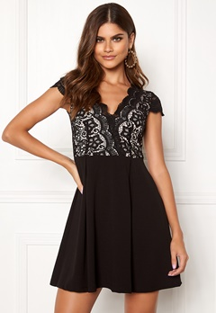 Make Way Rachel lace dress Black / Beige Bubbleroom.no