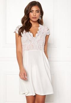 Make Way Rachel lace dress White / Beige Bubbleroom.no