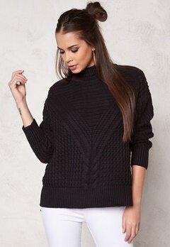 Make Way Raquel Sweater Black Bubbleroom.no