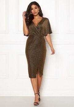 Make Way Selena sparkling dress Black / Gold Bubbleroom.no