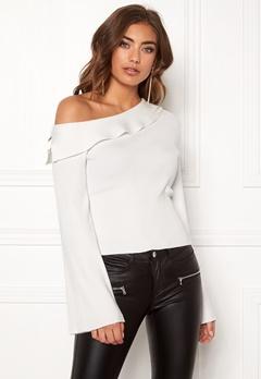 Make Way Signe knitted top White Bubbleroom.no