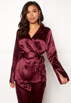 Make Way Tomika jacket Wine-red Bubbleroom.no