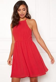 Make Way Vania dress Raspberry red Bubbleroom.no