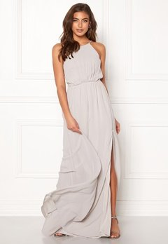 Make Way Vania maxi dress Light grey Bubbleroom.no