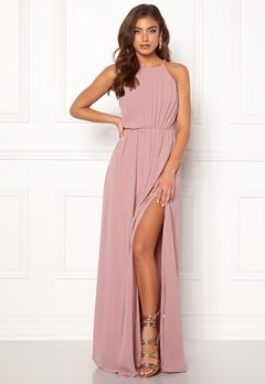 Make Way Vania maxi dress Old rose Bubbleroom.no