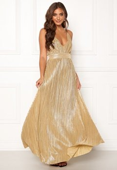 Make Way Velora dress Gold-coloured Bubbleroom.no