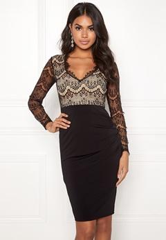Make Way Yveine dress Black / Beige Bubbleroom.no