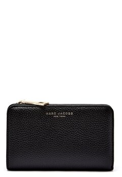 Marc Jacobs Compact Wallet 065 Black Gold Bubbleroom.no