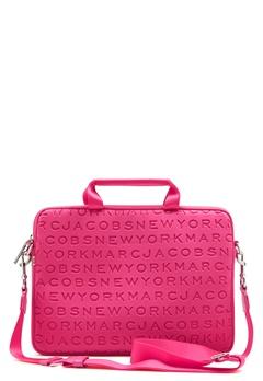 "Marc Jacobs Computer Case 13"" Punch Pink Bubbleroom.no"