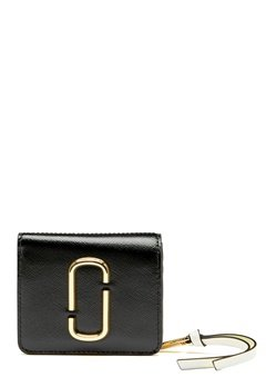 The Marc Jacobs Mini Compact Wallet Black Multi Bubbleroom.no