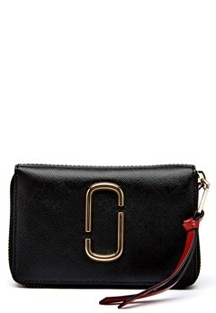 Marc Jacobs Small Standard Wallet 014 Black Bubbleroom.no