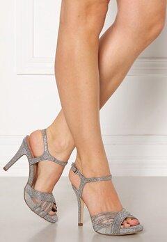Menbur Glitter Sandals Silver Bubbleroom.no