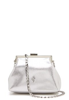 Menbur Glitter Soft Bag Silver Bubbleroom.no