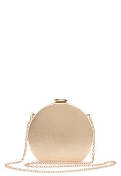Menbur Metallic Round Clutch Gold Bubbleroom.no