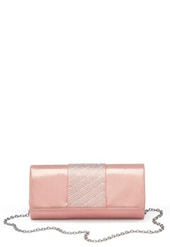 Menbur Rhinestone Glitter Clutch Even Rose Bubbleroom.no