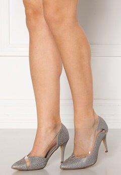 Menbur Sapato Glitter Sandals Silver Bubbleroom.no