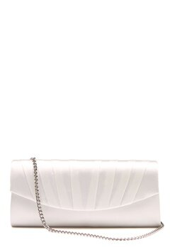 Menbur Satin Clutch Ivory Bubbleroom.no