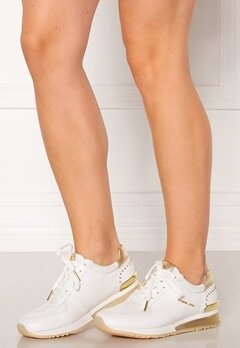 Michael Michael Kors Allie Wrap Trainer 117 Ecru Bubbleroom.no