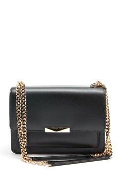 Michael Michael Kors Jade Gusset Bag Black Bubbleroom.no