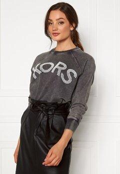 Michael Michael Kors Kors Logo Sweatshirt 001 Black Bubbleroom.no