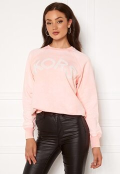 Michael Michael Kors Kors Logo Sweatshirt Powder Blush Bubbleroom.no