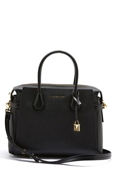 Michael Michael Kors Mercer Belted Bag Black Bubbleroom.no