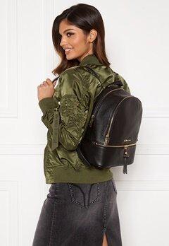 Michael Michael Kors Rhea Zip Backpack 001 Black Bubbleroom.no