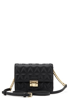 Michael Michael Kors Ruby Mid Clutch Quilted Bag 001 Black Bubbleroom.no