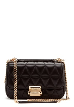 Michael Michael Kors Small Sloan Chain Bag Black Bubbleroom.no