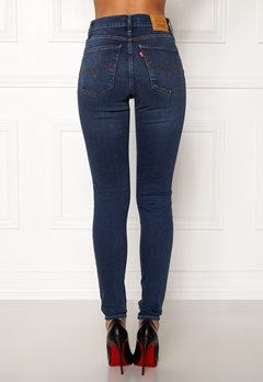 LEVI'S Milehigh Superskinny Jeans Breakthrough Blue Bubbleroom.no