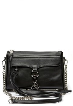 Rebecca Minkoff Mini Mac Bag 001 Black/Silver Bubbleroom.no