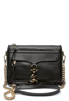 Rebecca Minkoff Mini Mac Bag 001 Black/Light Gold Bubbleroom.no