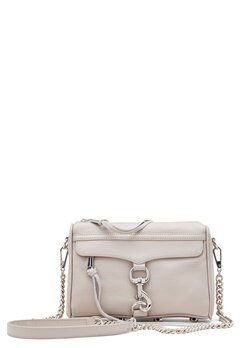 Rebecca Minkoff Mini Mac Leather Bag Putty Bubbleroom.no