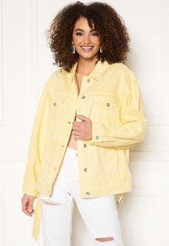 Miss Sixty WJ3750 Jacket Light Yellow Bubbleroom.no