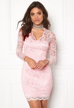 Model Behaviour Simone Dress Light pink Bubbleroom.no