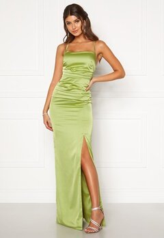 Moments New York Alda Strap Gown Green Bubbleroom.no