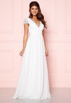 Moments New York Amelia Wedding Gown White Bubbleroom.no
