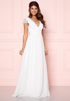 Moments New York Amelia Wedding Gown White Bubbleroom.no