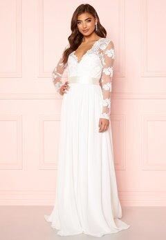 Moments New York Azalea Wedding Gown White Bubbleroom.no