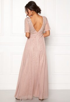 Moments New York Fleur Mesh Gown Light lilac Bubbleroom.no