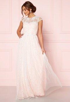 Moments New York Florentina Wedding Gown White Bubbleroom.no