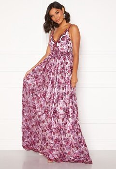Moments New York Gardenia Floral Gown   Floral Bubbleroom.no