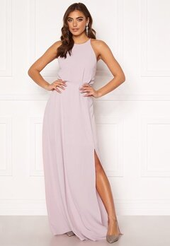 Moments New York Heather Crepe Gown Pink Bubbleroom.no