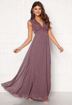 Moments New York Loana Crochet Gown Light lilac Bubbleroom.no