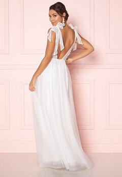 Moments New York Marguerite Wedding Gown White Bubbleroom.no